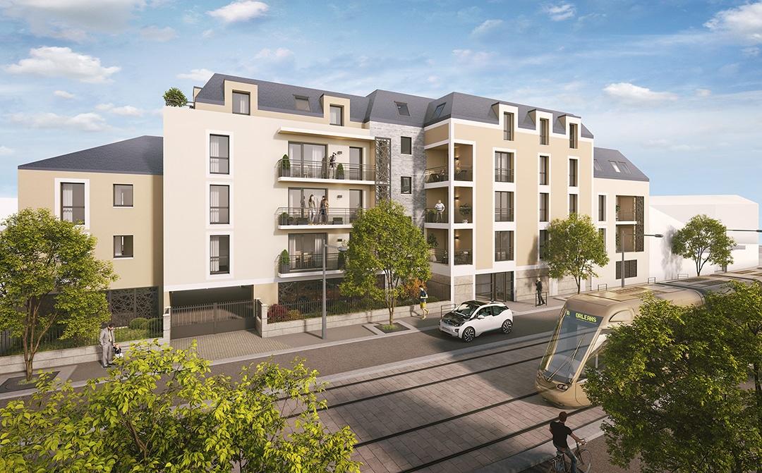 Perspective 3D – Projet immobilier à Strasbourg