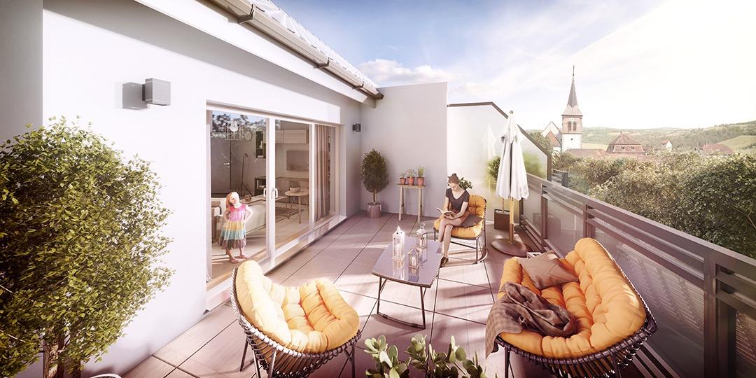 Image – Projet immobilier Brunstatt